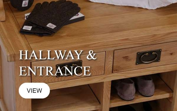 Oak Hallway and Entrance Furniture, Carlisle, Cumbria