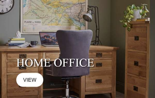 Oak Home Office Furniture, Carlisle, Cumbria