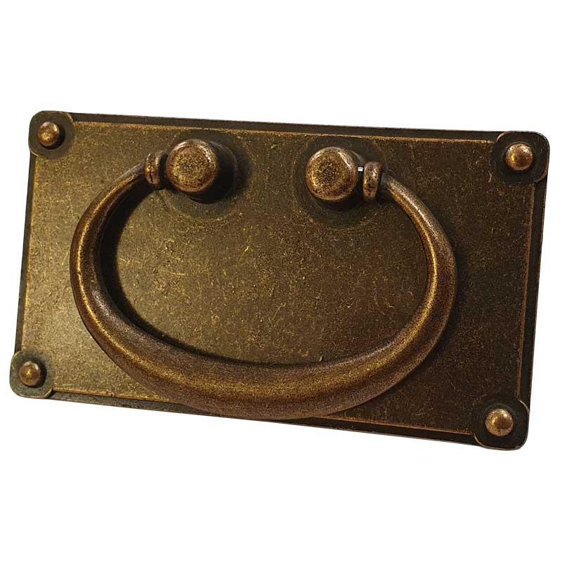 Antique Brass Plate