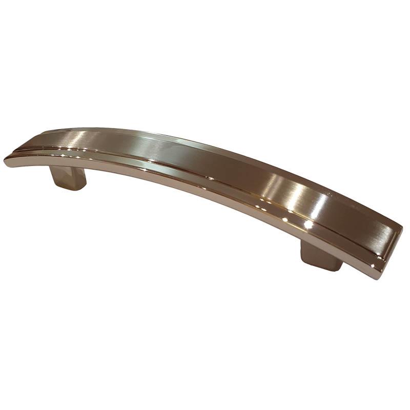 Polished Satin Chrome Bow