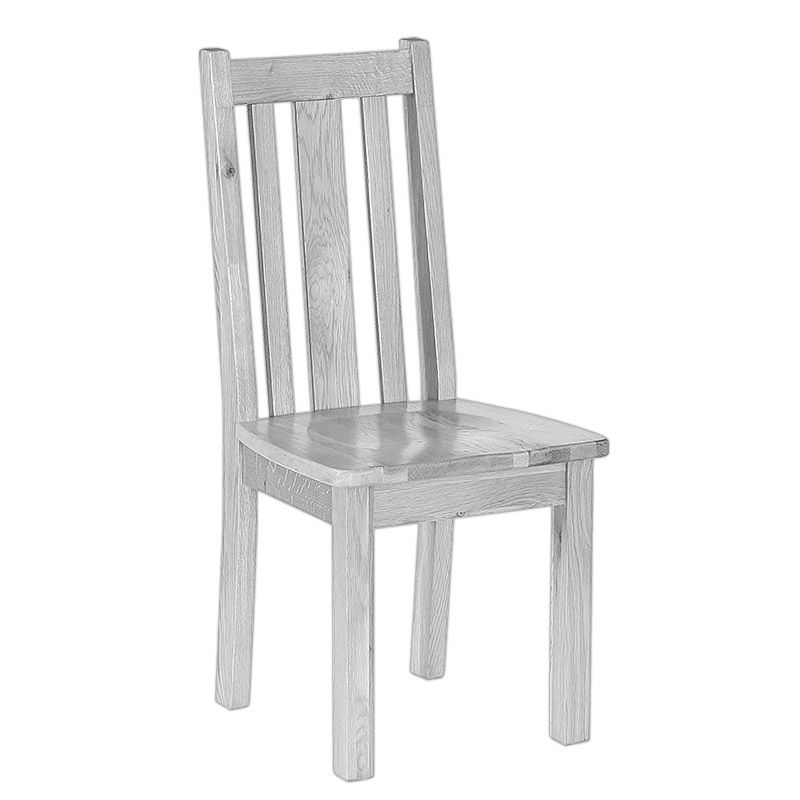 Vertical Slatted Dining Chair