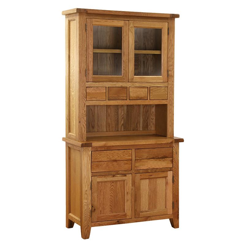Open Shelf Glazed Dresser