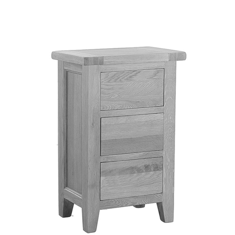 3 Drawer Lamp Table