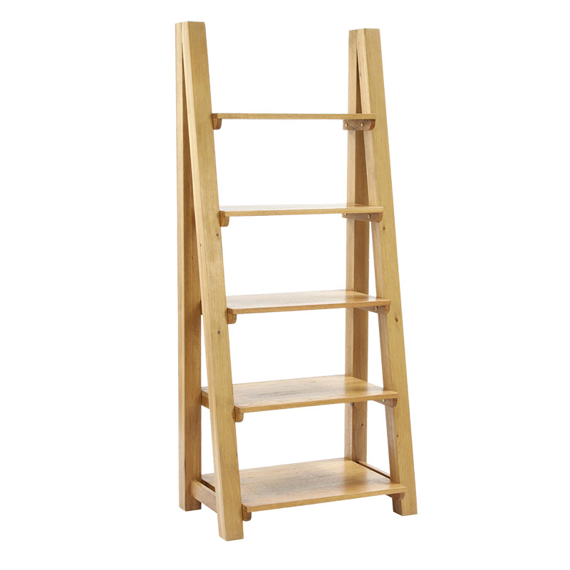 Staggered 5 Shelf Bookcase