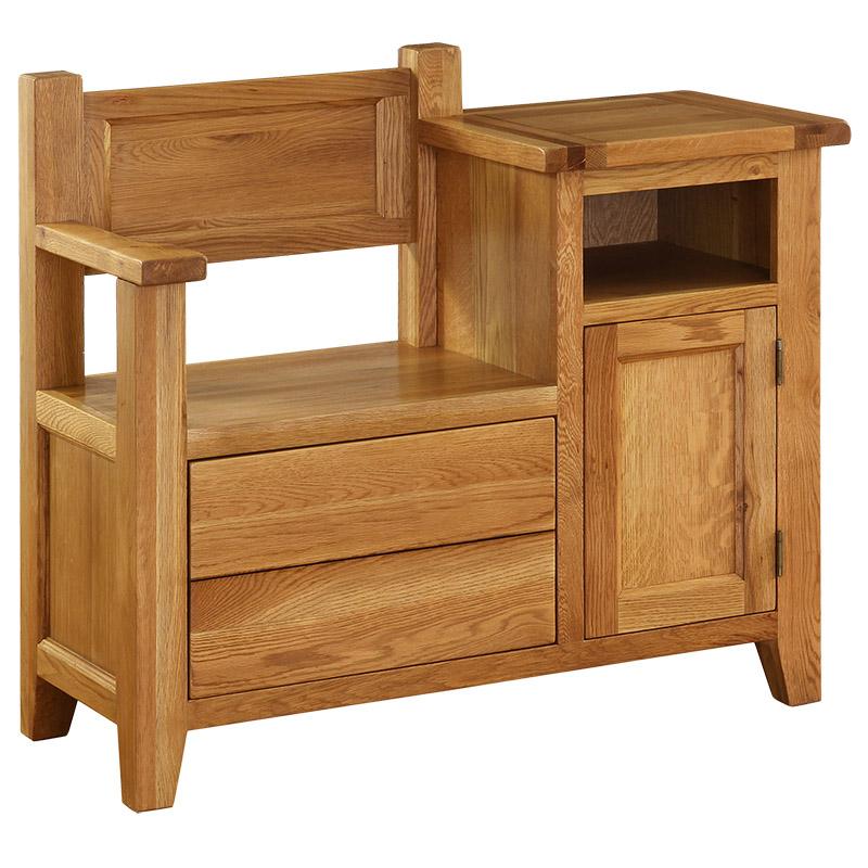 1 Drawer Occasional Bench